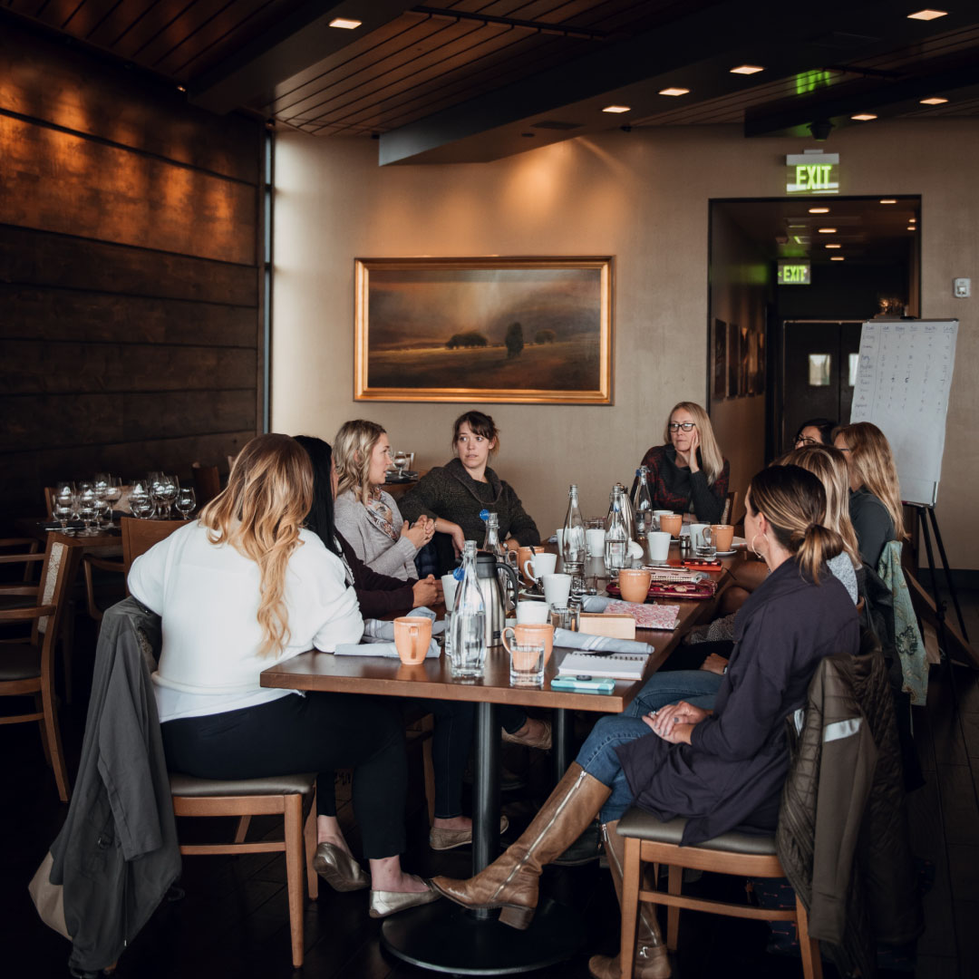 Mastermind - Our leadership development mastermind provides an opportunity to grow the success of your business, your relationships, and your personal goals by connecting you in-person monthly with other powerful women for a day of conversation, ideation, and accountability.