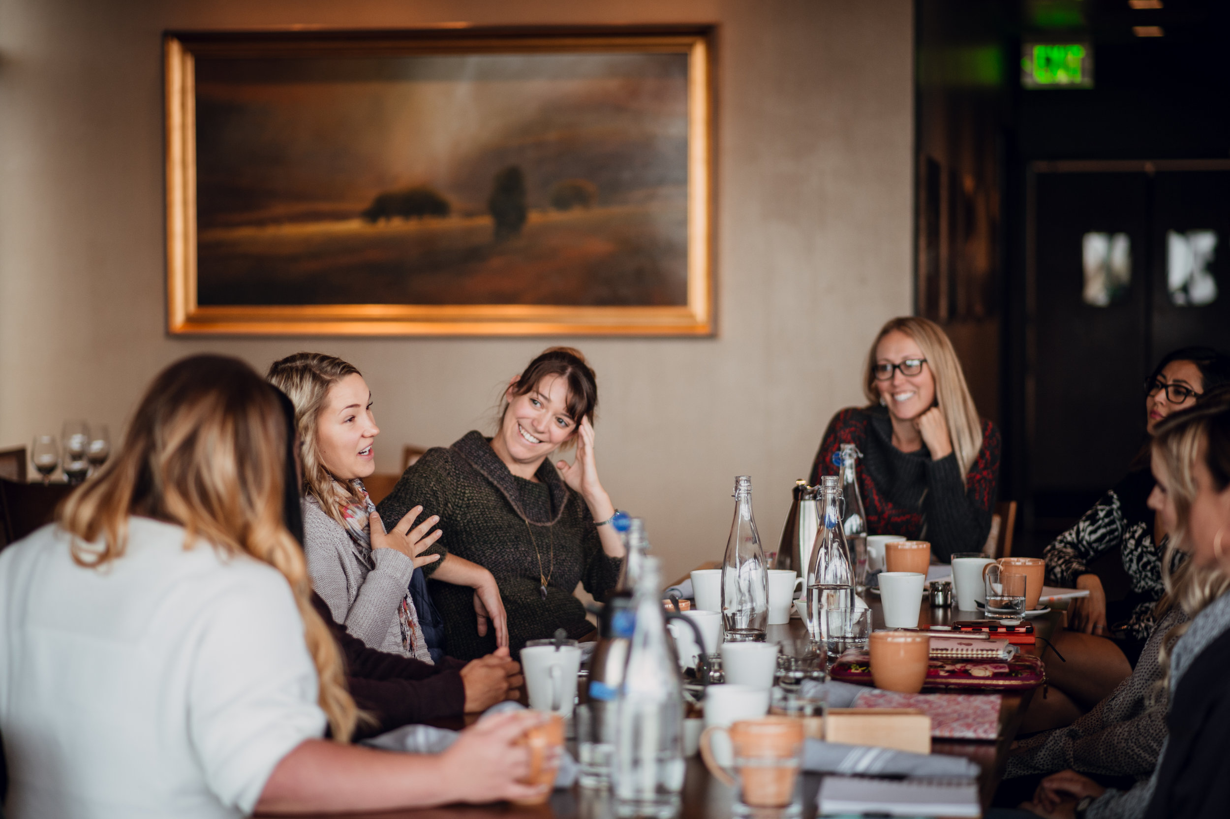 In-Person Masterminds - Our in-person mastermind groups provoke new ways of thinking, provide invaluable insights, and promote friendship and connection in your local community.