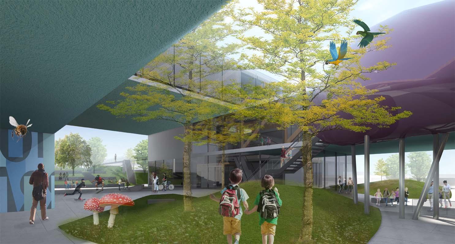Vista virtuale da Corso Umberto I