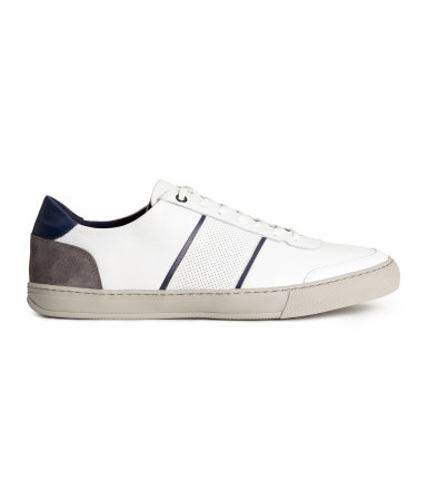 H&M Leather Sneakers  $59.99