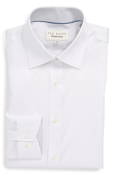 'Oncore' Trim Fit Micro Stripe Dress Shirt -  $98.50