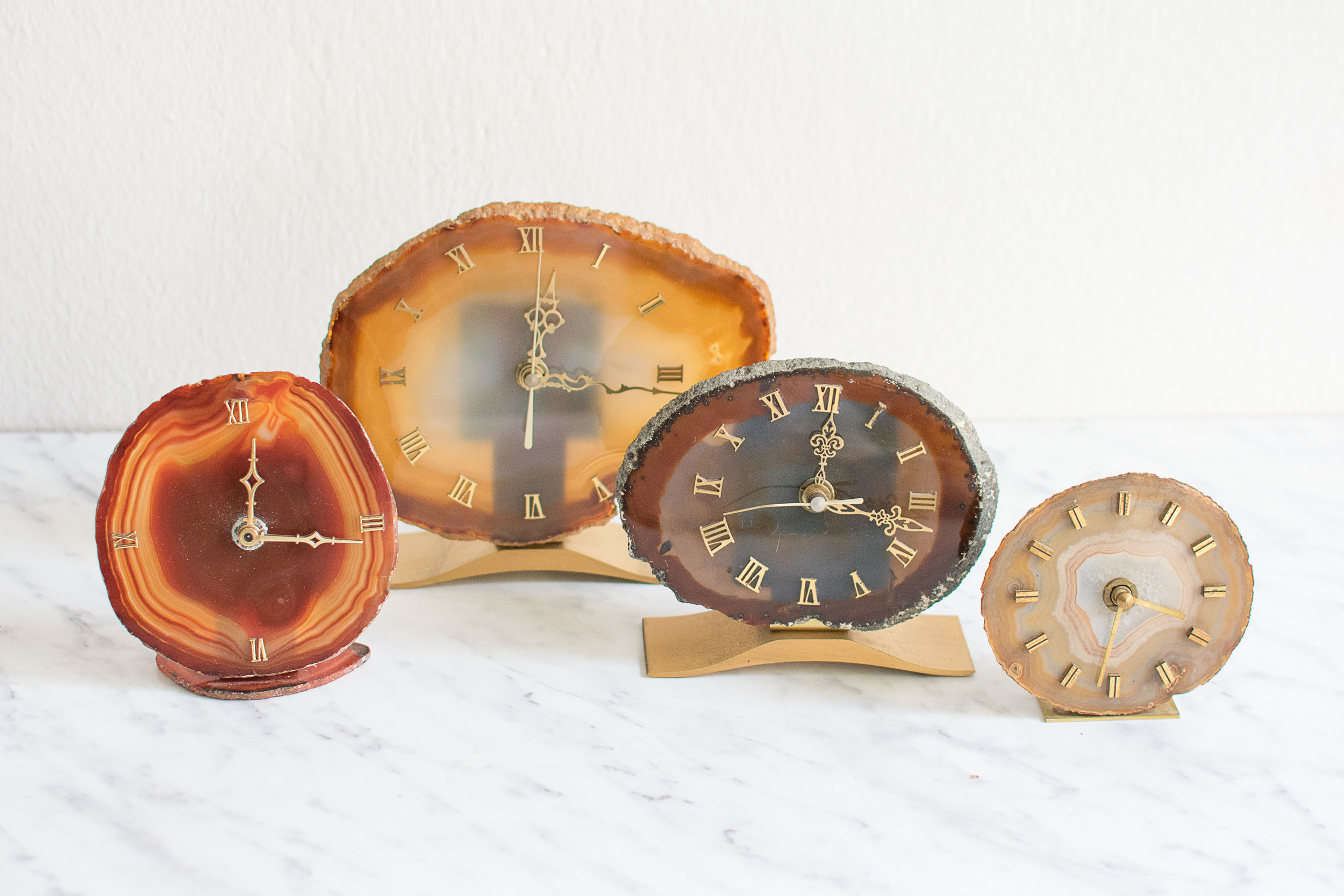 > More vintage clocks