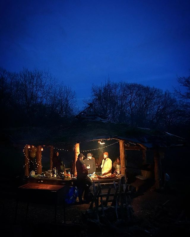 First fires and outside times of 2019 - more please!! #fire #woods #woodland #outdoors #nightime #bestbirthday #outdoorcooking