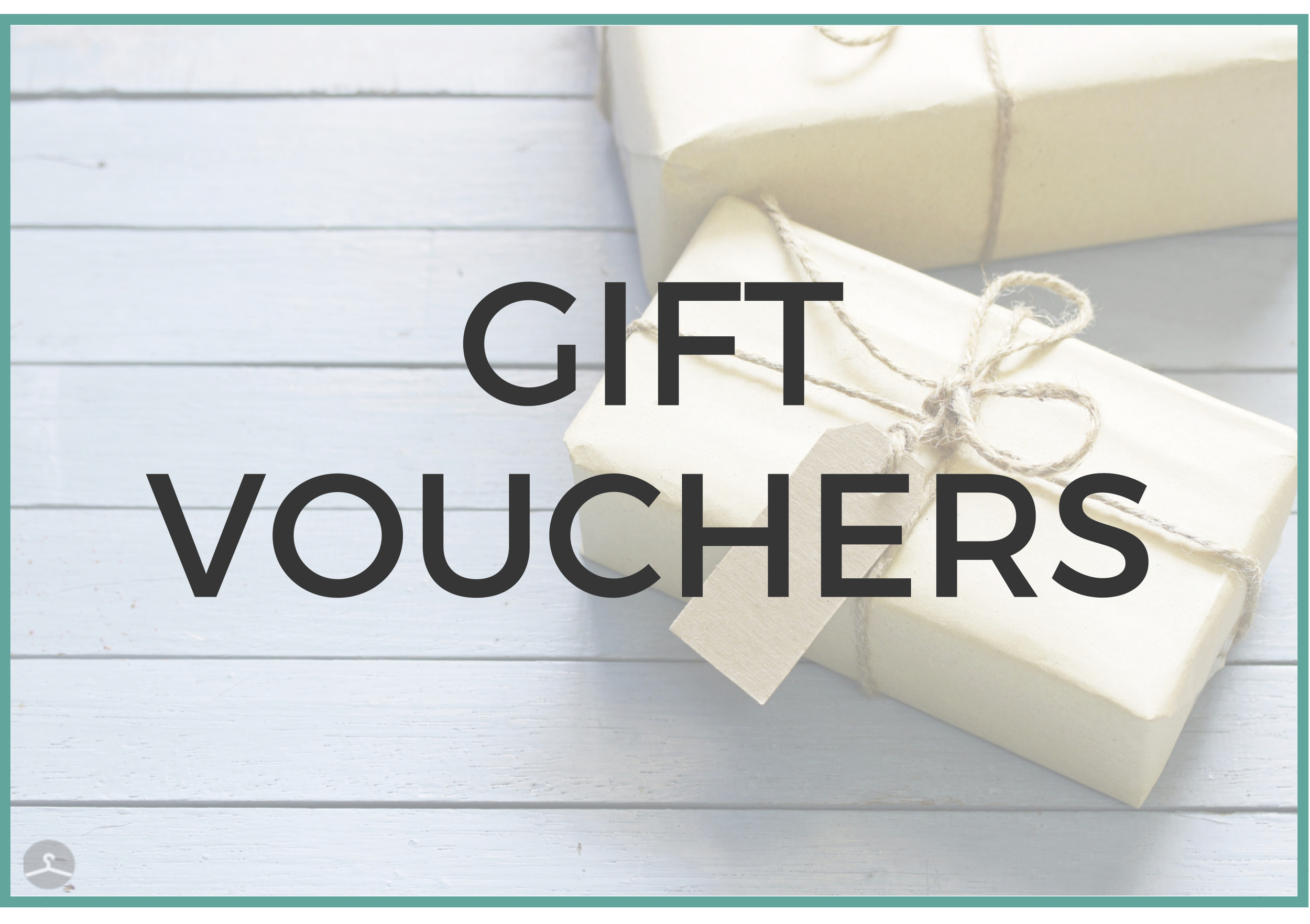 Personal styling gift vouchers