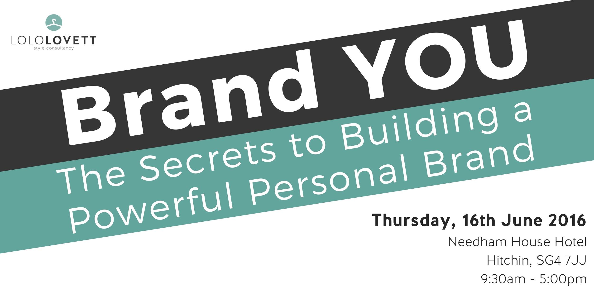 Personal Branding Workshop | Lolo Lovett