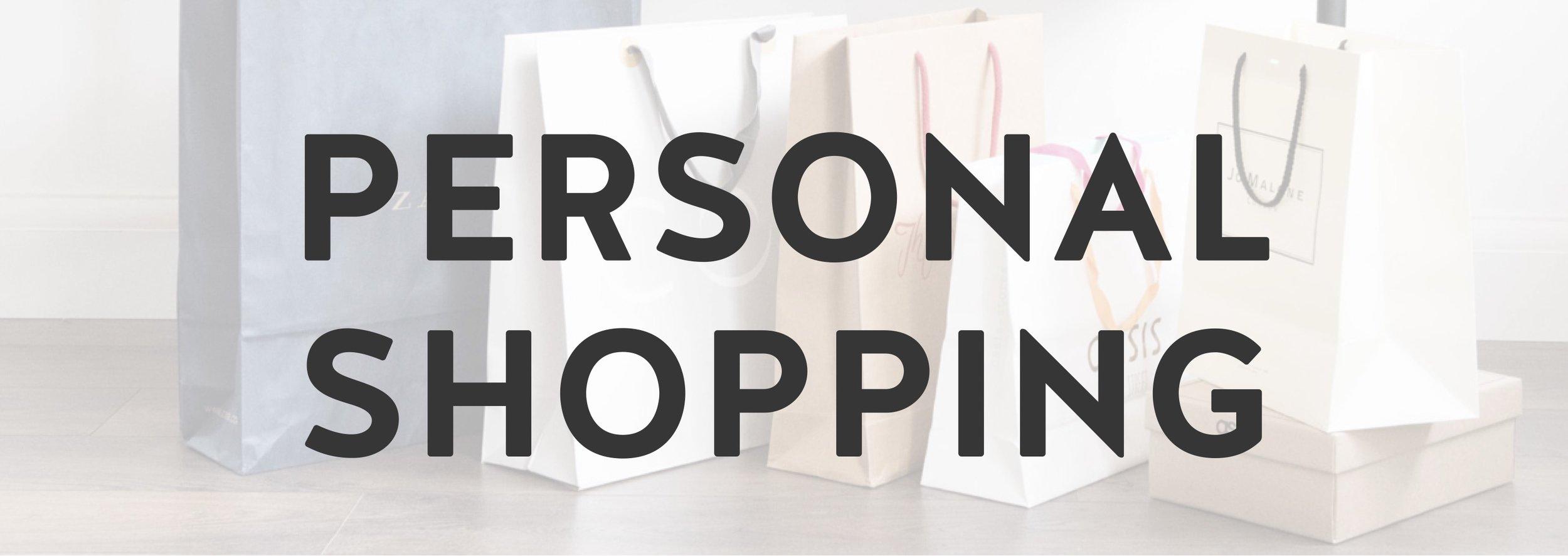 Personal shopping Hertfordshire