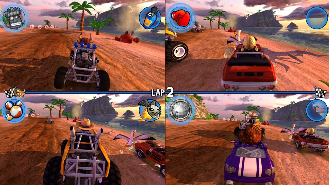 beach buggy racing free online games