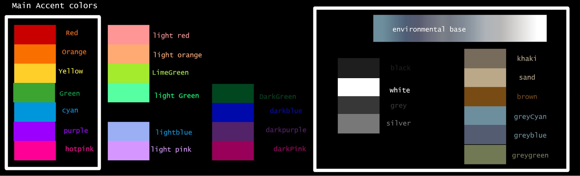 The color palette we used for Riptide GP: Renegade helped us maintain color balance through the worlds, characters, vehicles and UI.