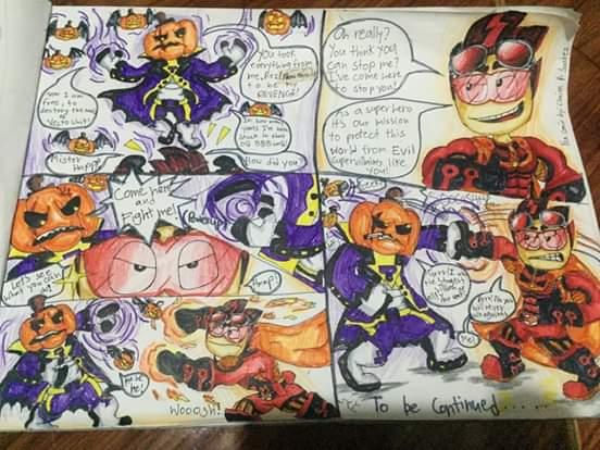 BBR2 Superheroes Comic!