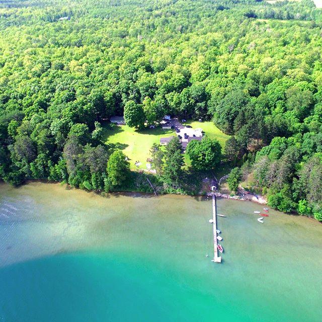 Sugarcrest and the aquamarine jewel of the North...Sugar Lake.  #sugarcrest, #sugarlake, #vacationrental, #minnesotavacation