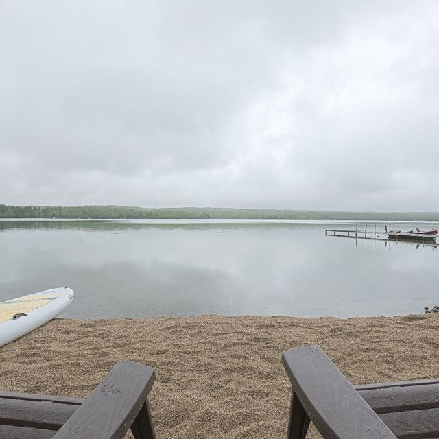 View from beach at Sugarcrest.  #sugarcrest, #sugarlake, #vacationrental, #minnesotavacation, #lakevacation,
