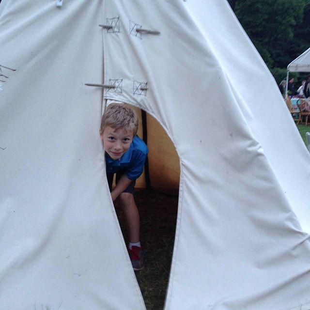 #teepee, #tipi at #sugarcrest #lakewedding