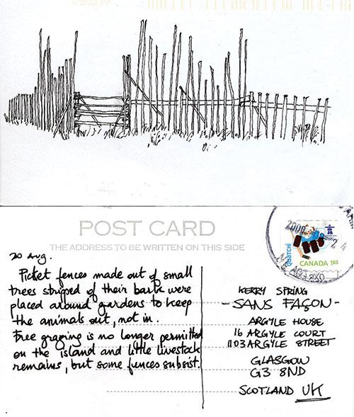 Postcard number 6