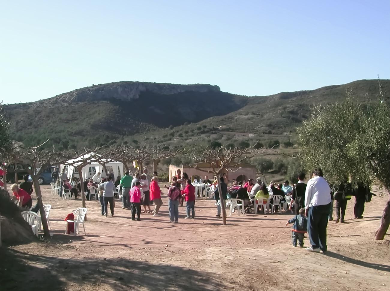 A local fiesta in El Molar