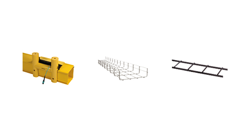 Mighty Mo Fiber Raceway, Cablofil Wire Mesh Cable Tray, Tubular Runway