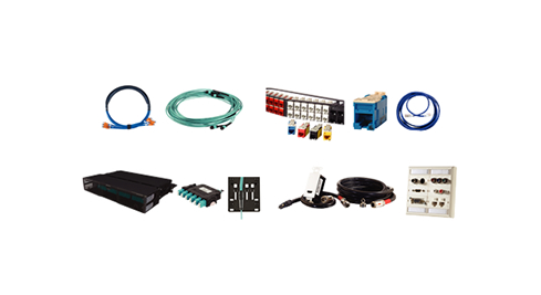 Copper and Fiber Pre-Terminated Solutions, Clarity Copper Connectivity, Infinium Fiber Connectivity, A/V Solutions