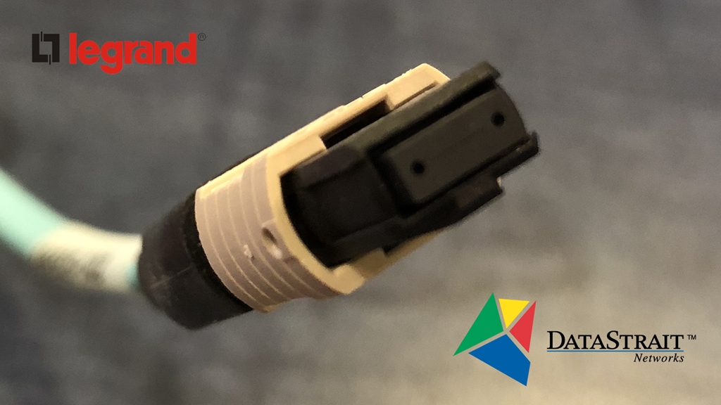MPO Fiber Connector from Legrand