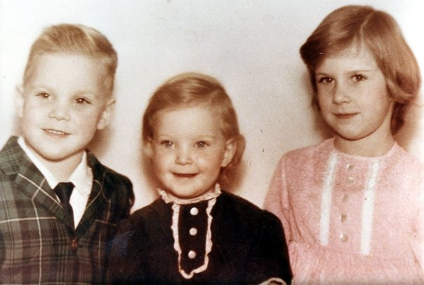 Here we are, my two younger siblings and me. Jack, Judy and Yours truly!