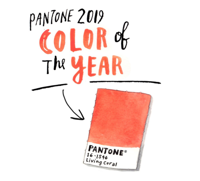 FYI - Pantone picked Living Coral as the 2019 Color of the Year. Expect to see a lot of this!