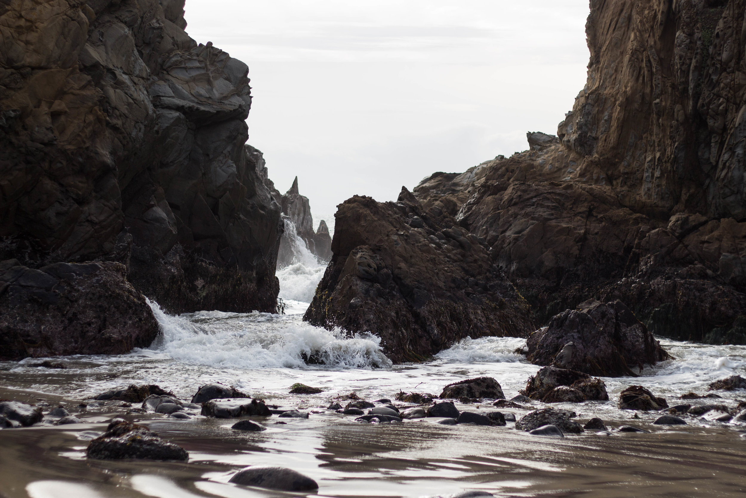 Pfieffer Beach, Big Sur