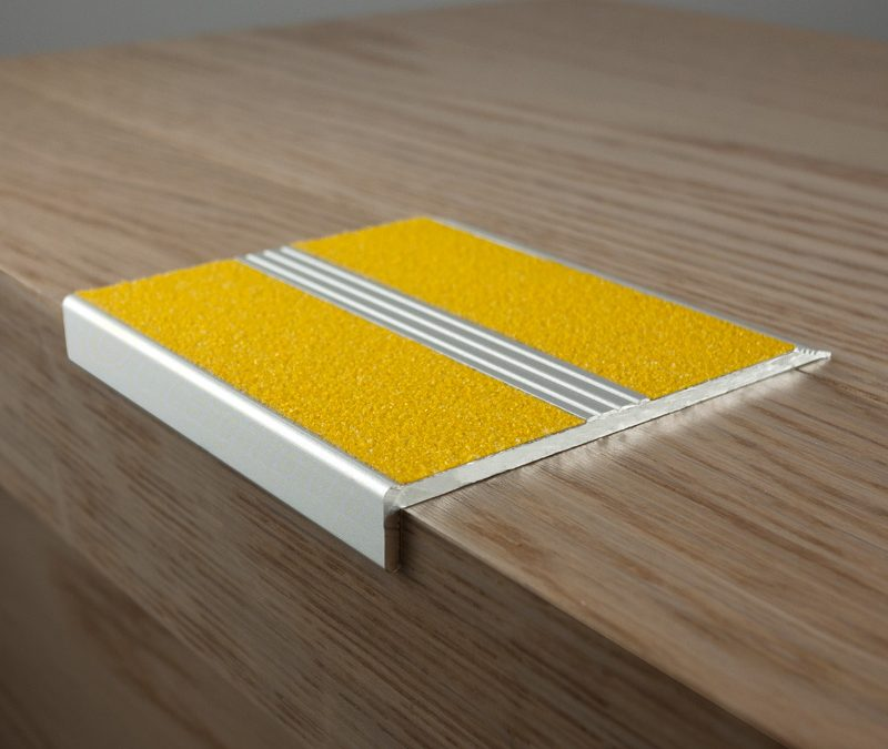 Yellow 10mm face with aluminium edging