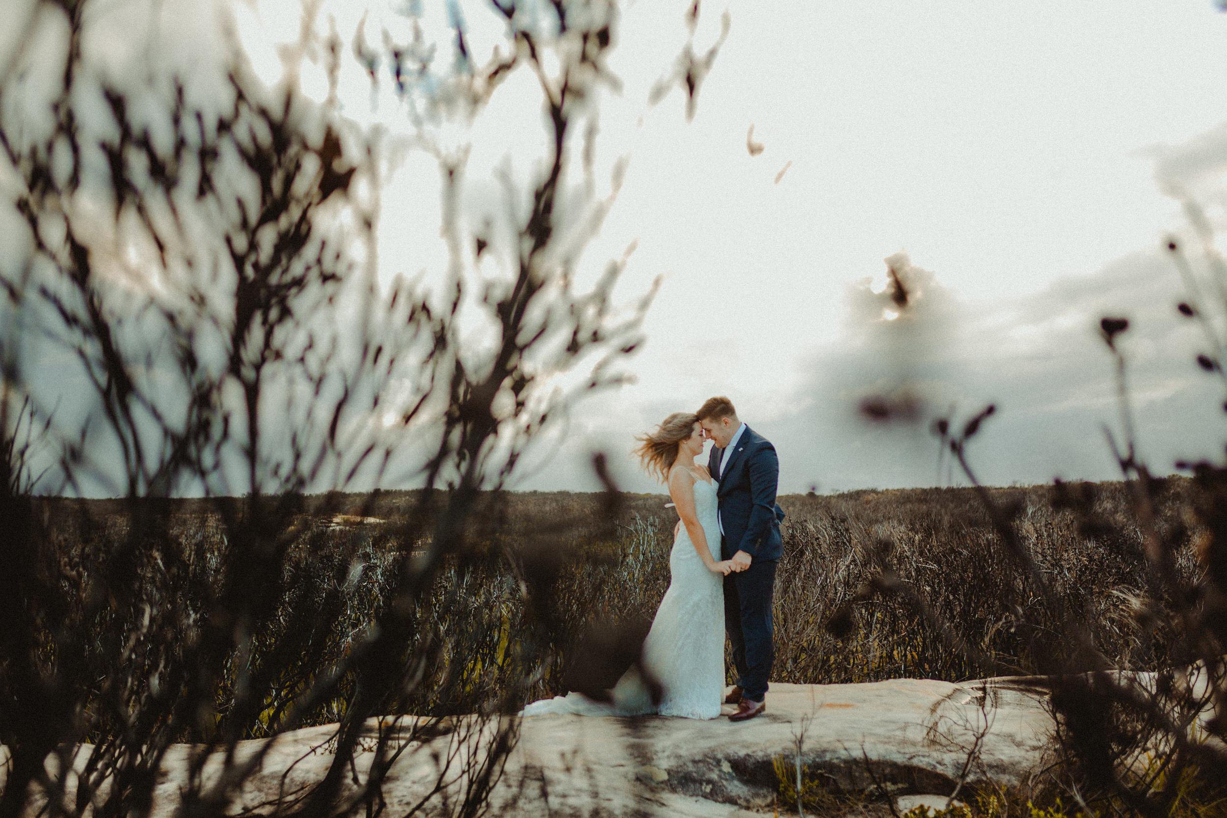 Kurnell_Cliffs_Wedding