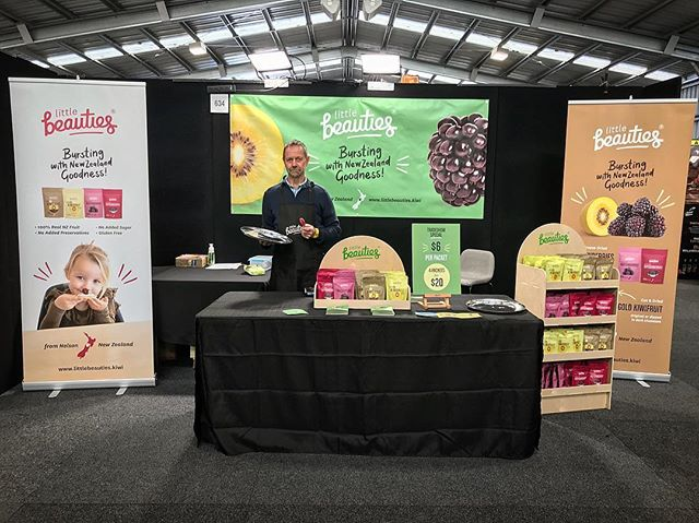 Kia Ora Waikato!! We're thrilled to be @waikatohomegardenshow we've got our more-ish Little Beauties for you to get stuck into. Come see us at stand 634 and say hi to Ian Wastney our friendly founder 😊