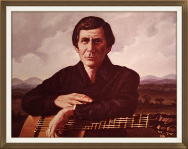 "CHET ATKINS  - Guitarist, President of RCA  Size: 24"" x 30""   Grand Ole Opry House, Nashville, TN in 1976"