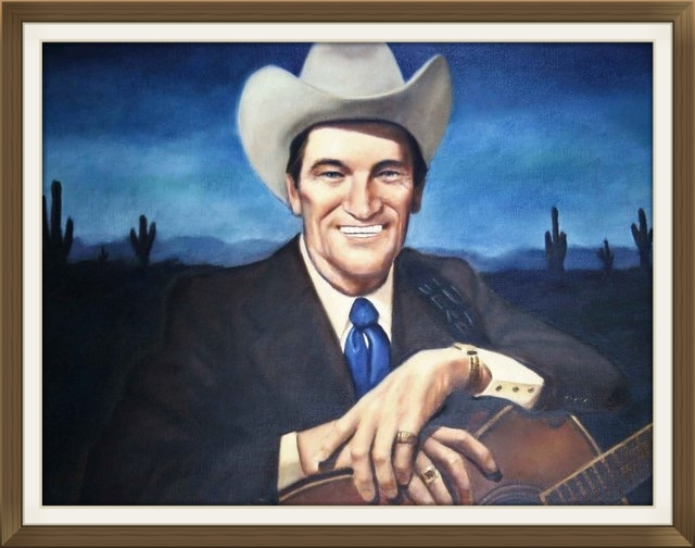 "ERNEST TUBB  - Singer, Composer  Size: 24"" x 30""  Grand Ole Opry House, Nashville, TN in 1976"