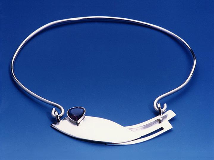 """Brancusi's Bird"" necklace"