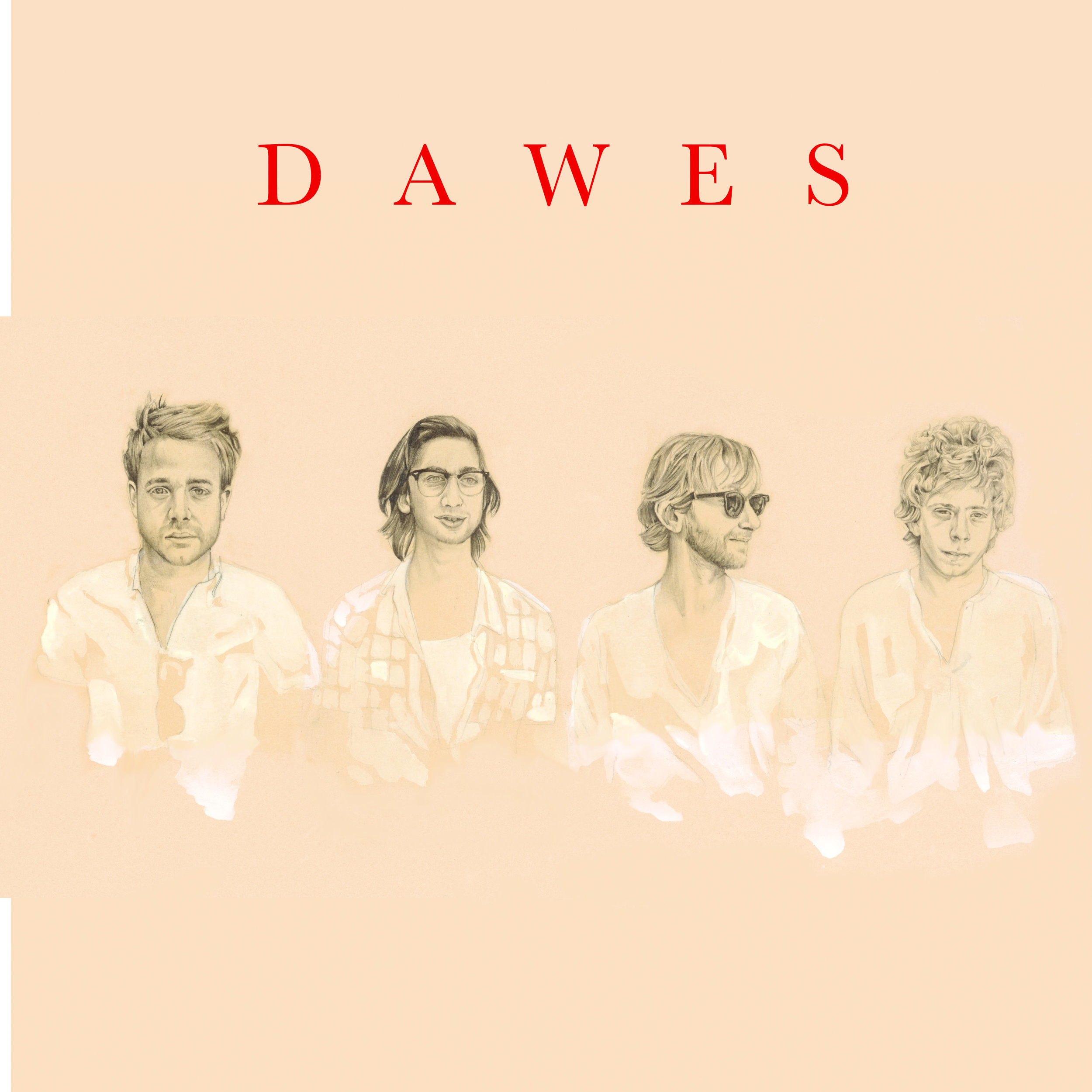Dawes Album Cover, 2009