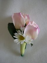 Light Pink Rose and Daisy Corsage - Minneapolis Silk Florist