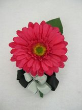 Pink Gerbera Daisy Corsage - Minneapolis Silk Florist