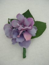Purple Hydrangea Boutonniere - Minneapolis Silk Florist
