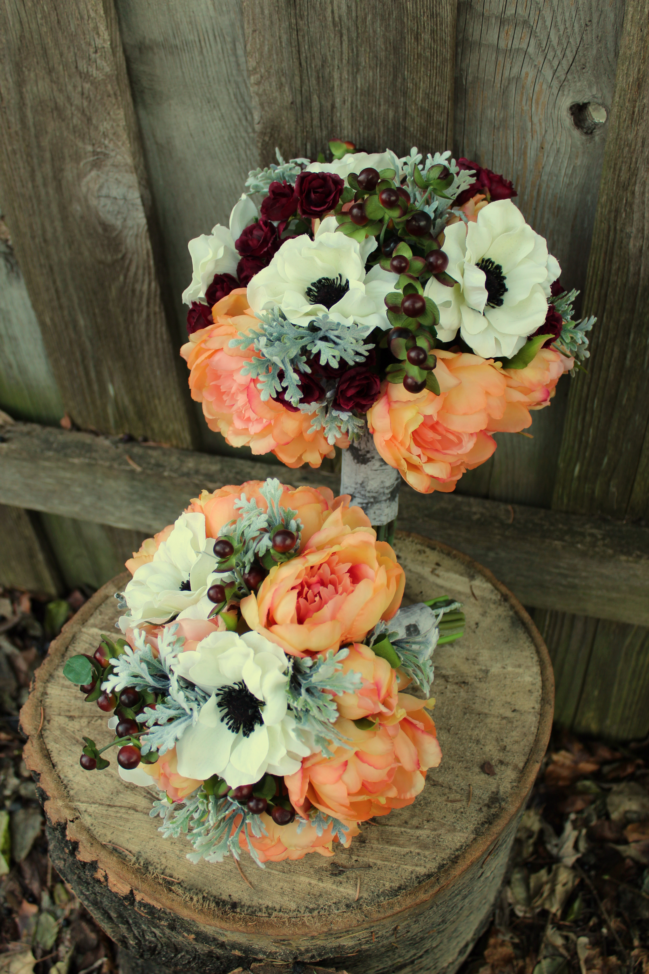 Rustic Bridal Bouquets For Spring Or Fall Silk Wedding Flowers And Bouquets Online Love Is Blooming
