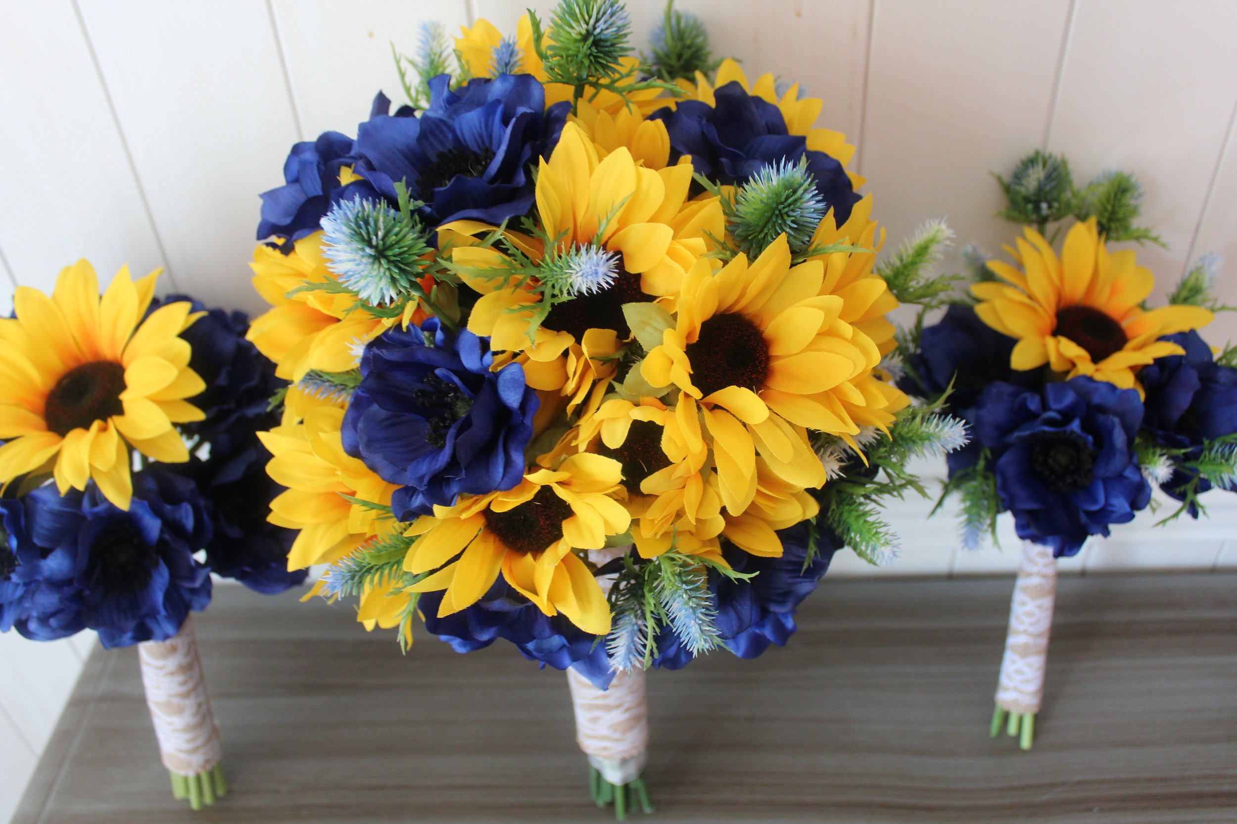 Bridesmaid, Bridal and Toss Bouquets