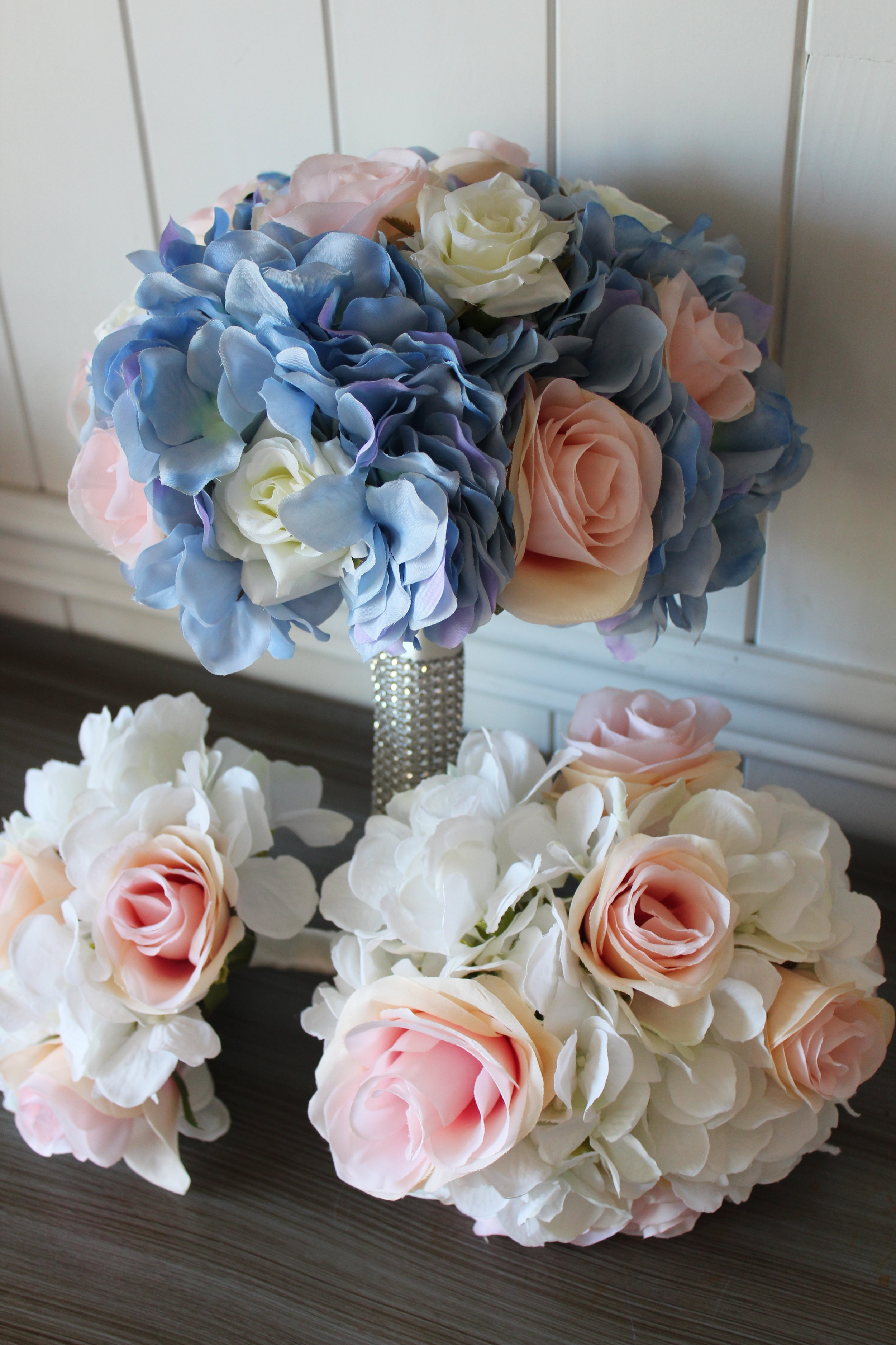 Bridal Bouquet, Jr. Bridesmaid and Bridesmaid Bouquets