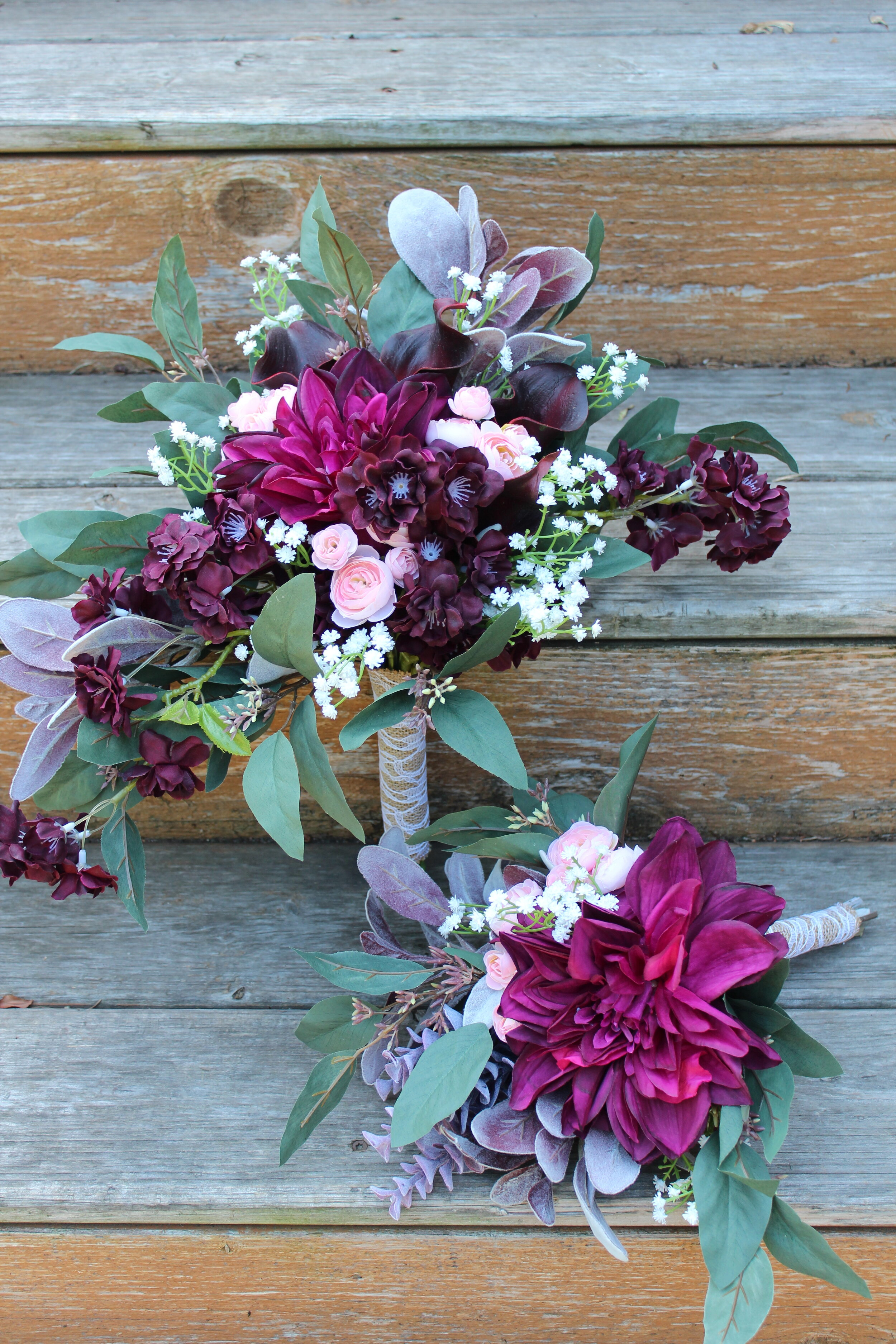 Bridesmaid and Toss Bouquet