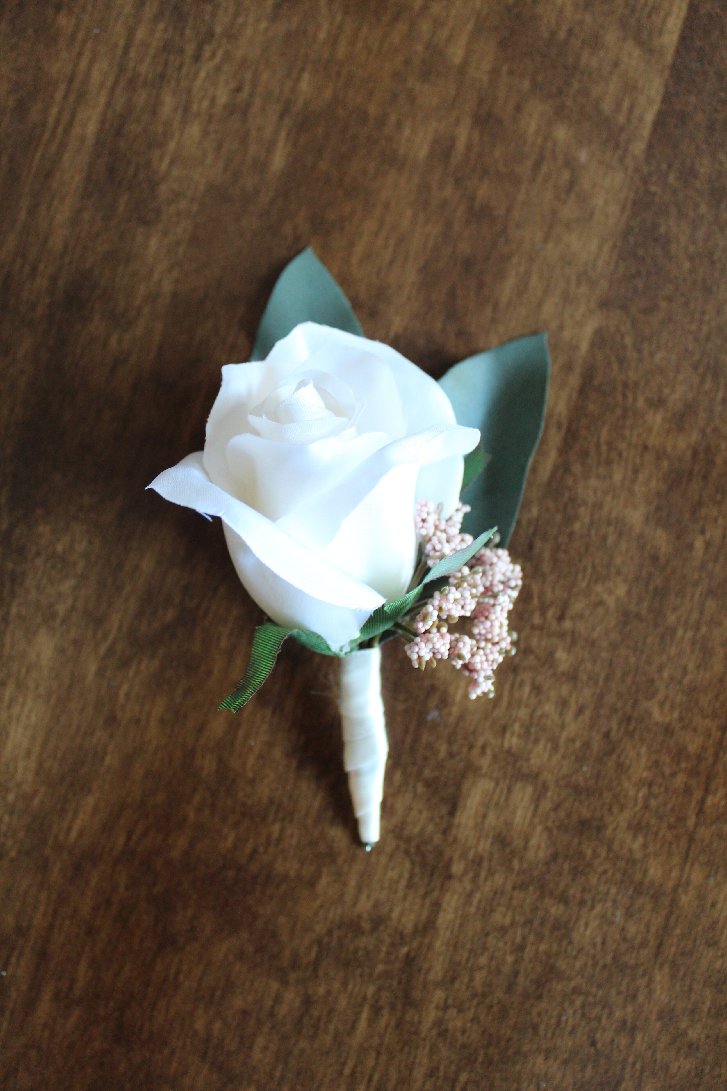 Boutonniere Order Silk Wedding Flowers Online Love Is Blooming