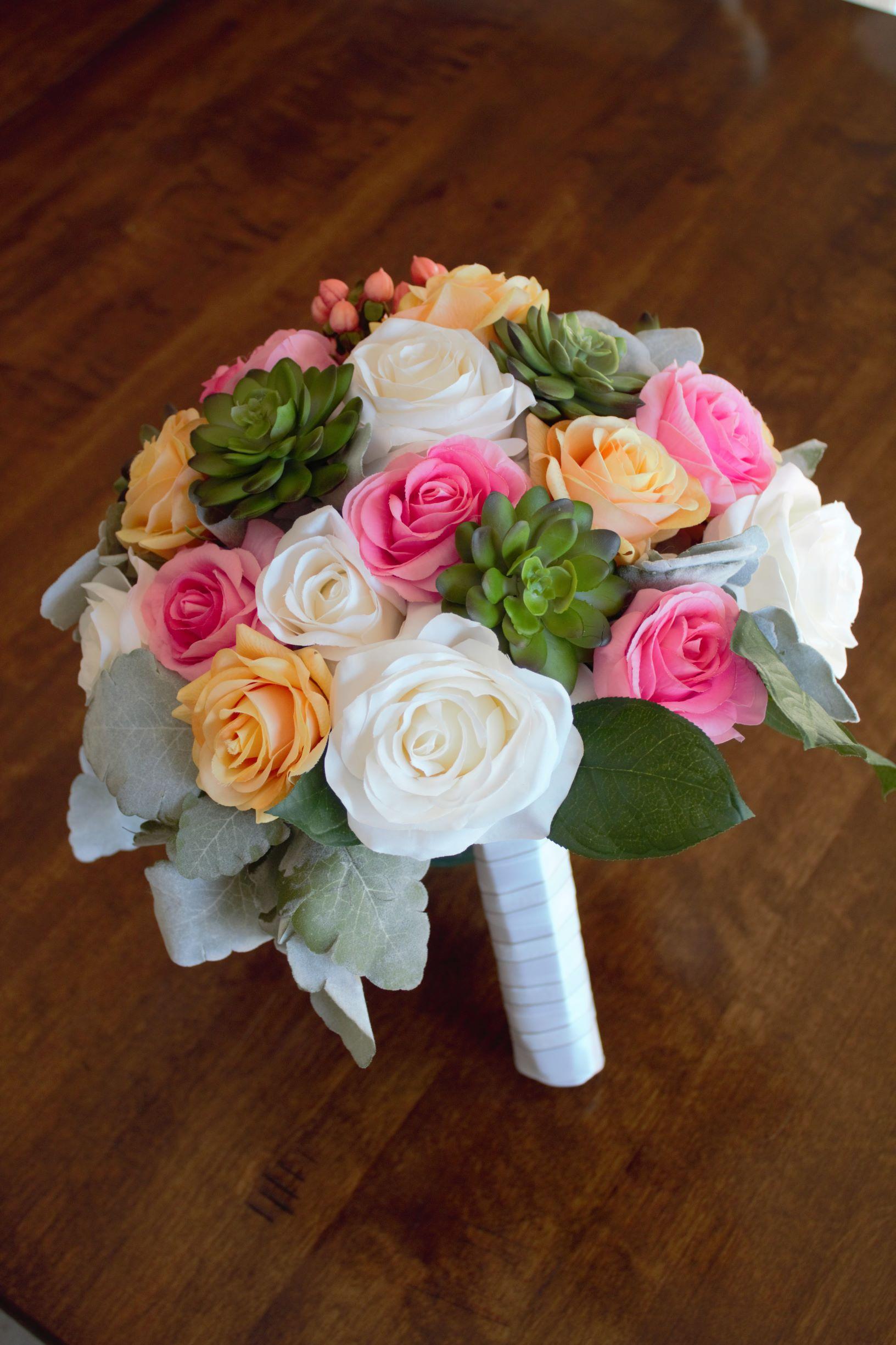 Bridal Bouquet Order Silk Wedding Flowers Online Love Is