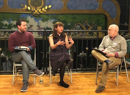 Talkback with Stephen Fredericks & Jacob Burlas - The Growing Stage New-Play Festival