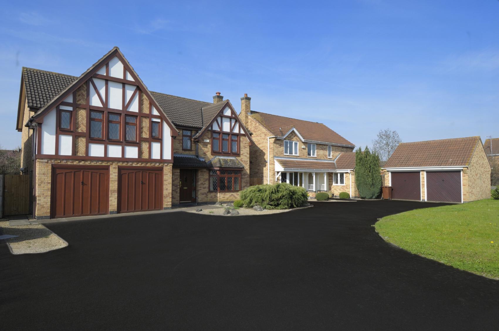 property after asphalt sealer