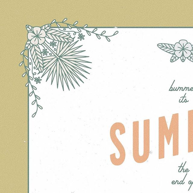 Bummer it's the end of summer 🌺 Diving into some event invites, mostly because the world could do without bad invitation design, and partially because I want to be an event designer in my next life (or this life?)