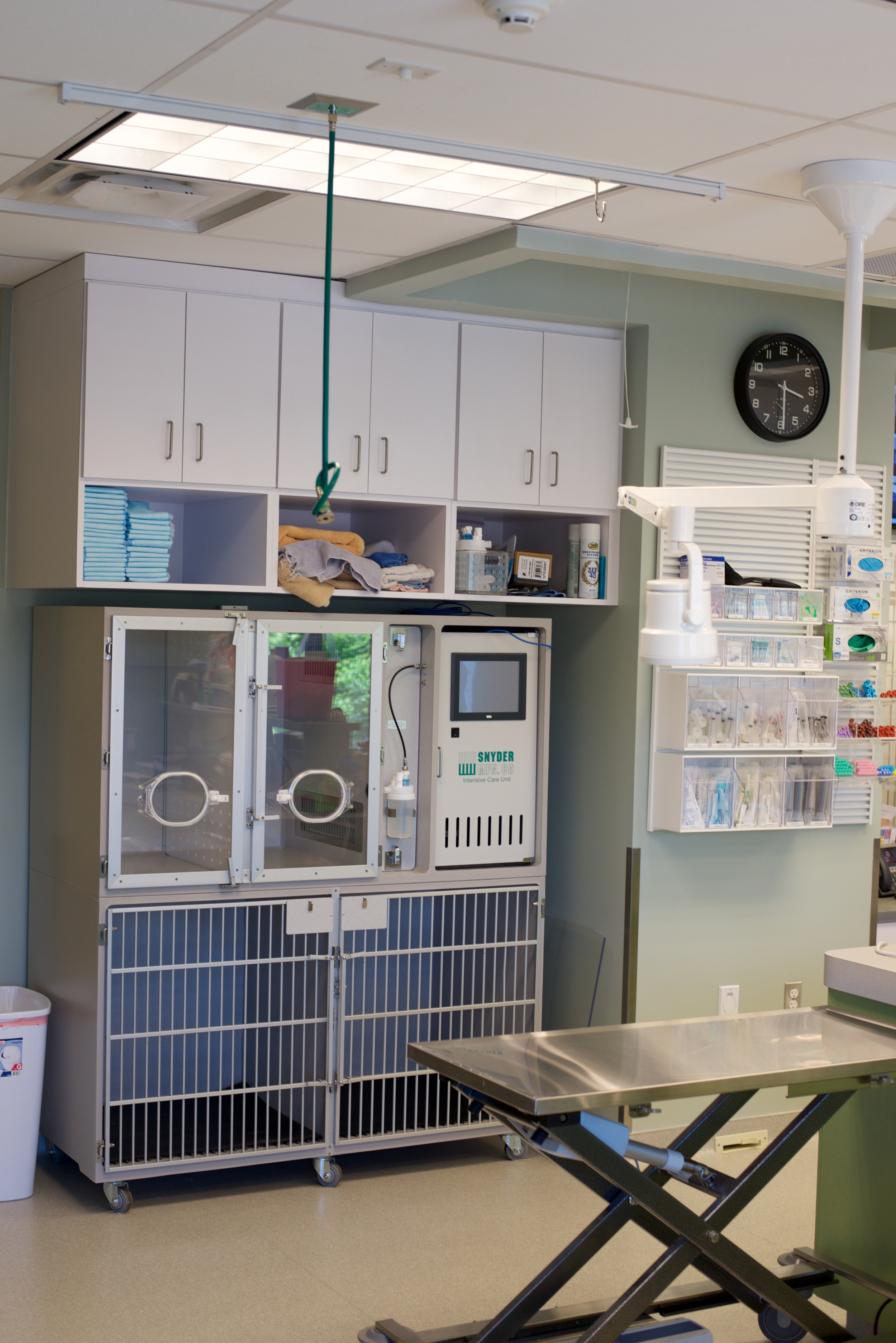 ICU Cage Bank