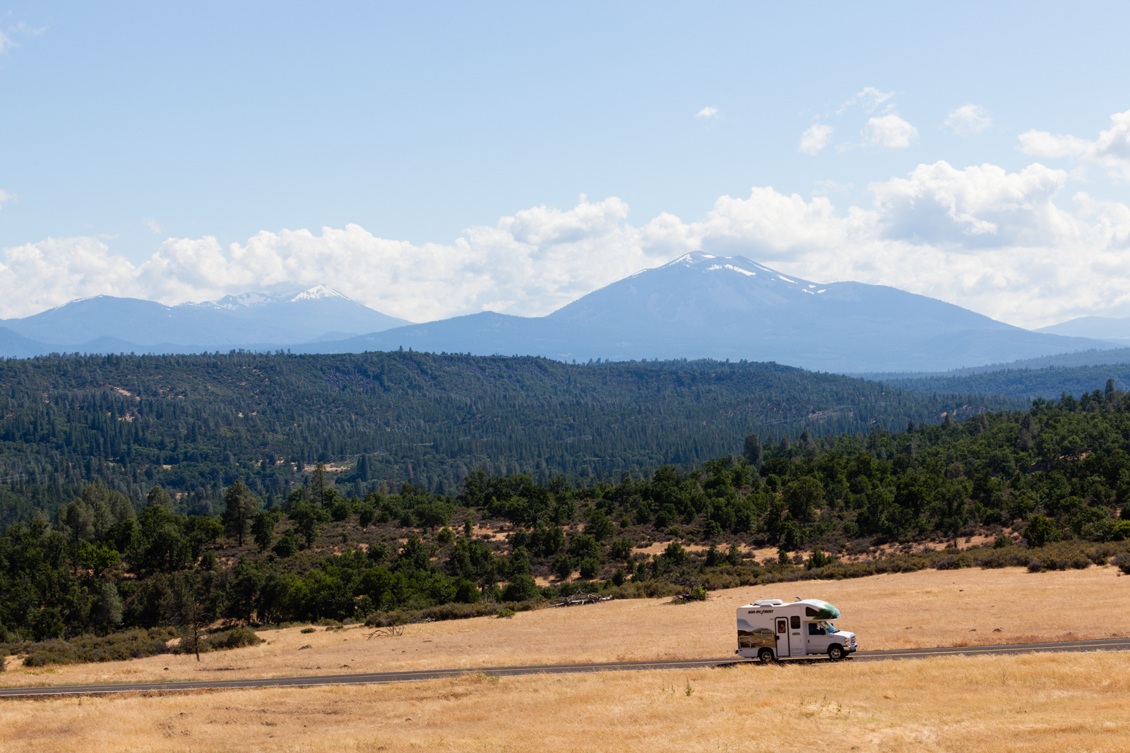 Driving through California's remote northeast.Credit:Andy Isaacson