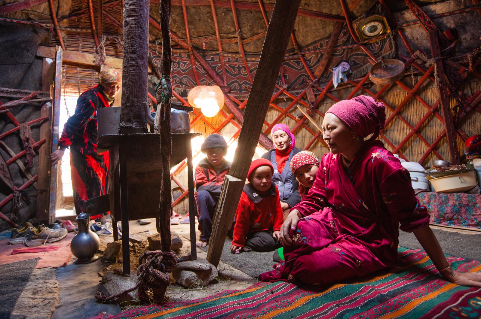 A Kyrgyz yurt in eastern Tajikistan. Credit: Andy Isaacson
