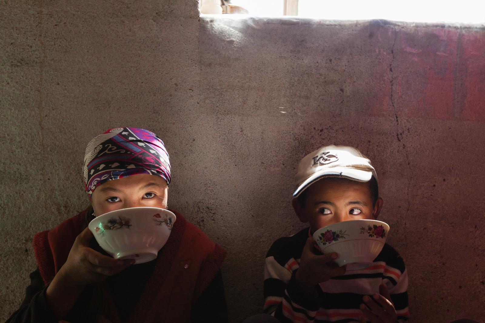Kyrgyz children in the High Pamir, Tajikistan. Credit: Andy Isaacson