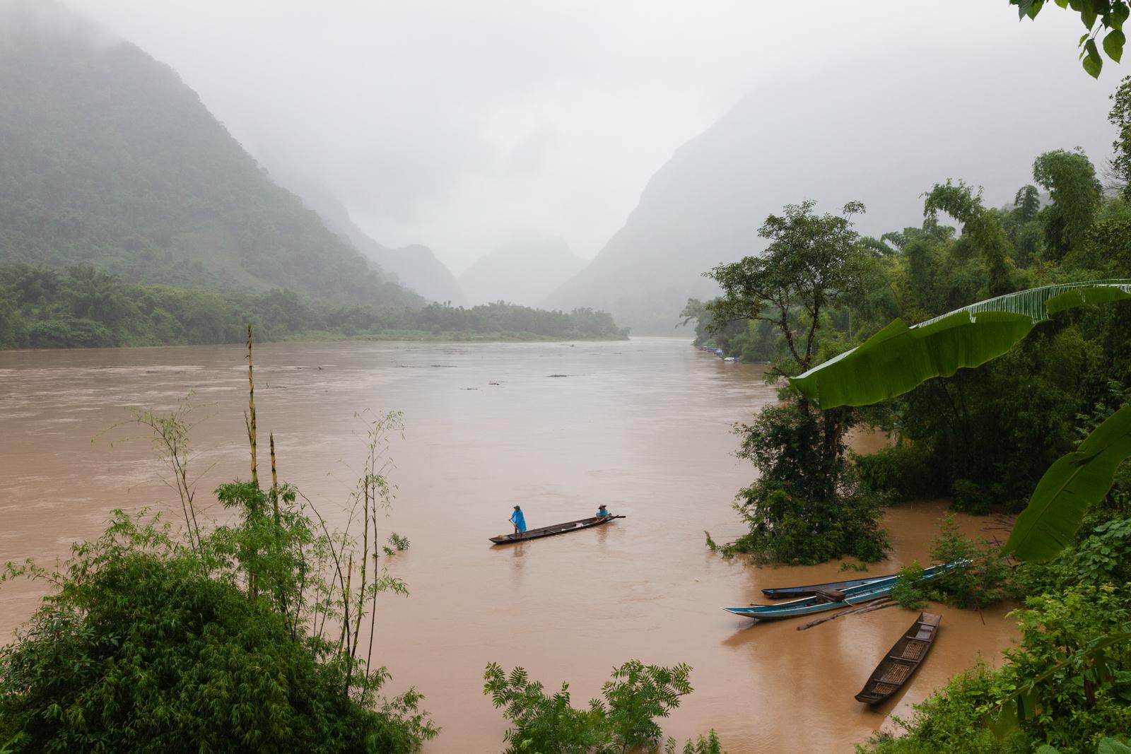 Nam Ou River. Credit: Andy Isaacson