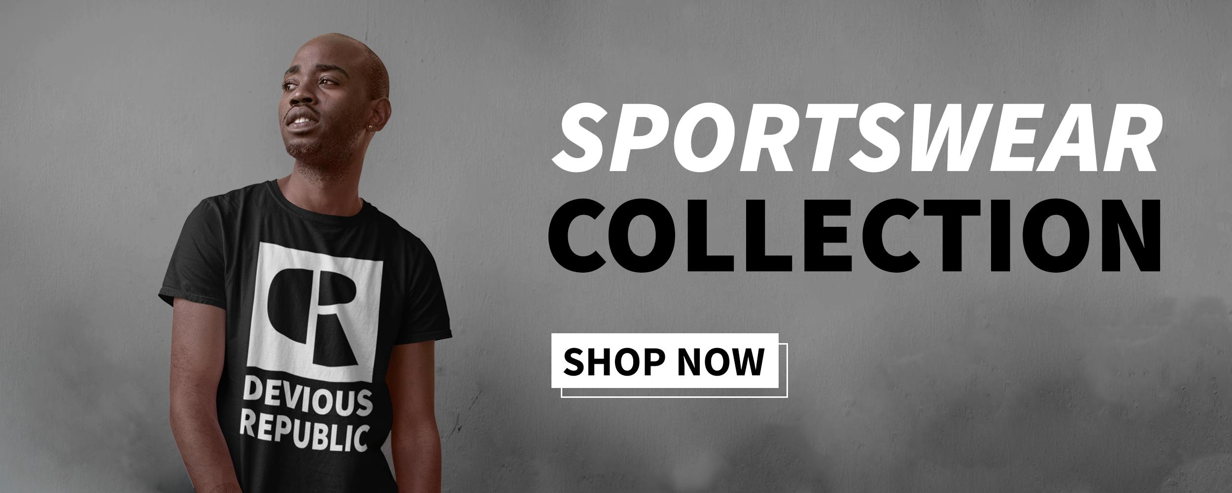 Devious Republic — Men's Sportswear