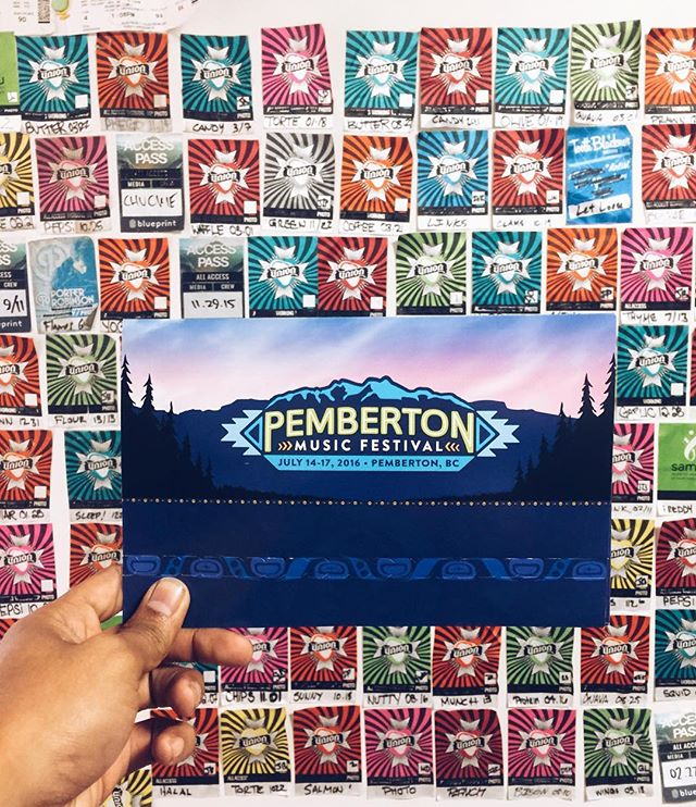 The best mail has arrived... I'm stoked to be one of the influencers for @pemberton_fest this year! How many of my pals are going? Find me for summer sixteen candids 📸🍻🏔#pemby16 #pembyfest #festivalseason